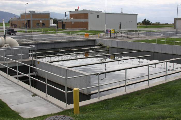 Chlorine Contact Basin